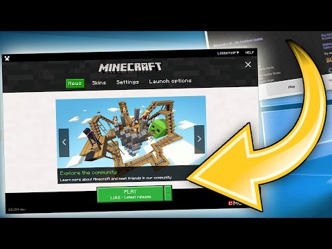 BRAND NEW OFFICIAL MINECRAFT LAUNCHER