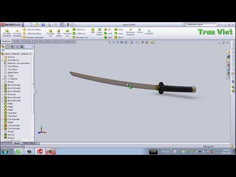 SolidWorks Tutorial : Katana