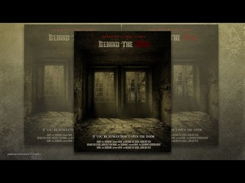 Photoshop CC Tutorial - Create a Behind The Door Horror Movie Poster
