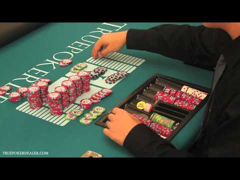 How to Deal Poker - Cheque Change & Color Ups (Part 2 of 2)