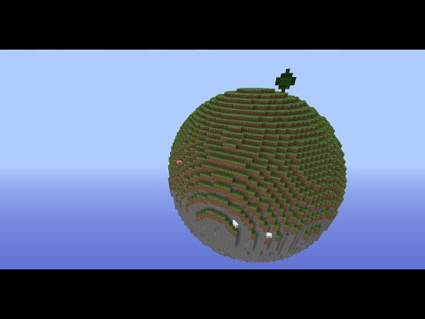 Minecraft Sphere + Hollow Sphere Tutorial