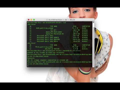 How to Make a bootable Ubuntu Usb pendrive in Mac Os X Yosemite / El Capitan / macos Sierra
