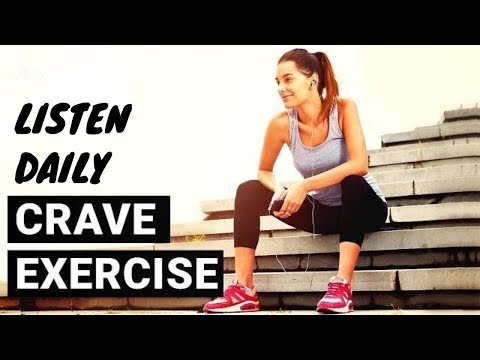 Crave Exercise ~ Hypnosis for Fitness Motivation, Exercise, and Weight Loss | Self Hypnosis