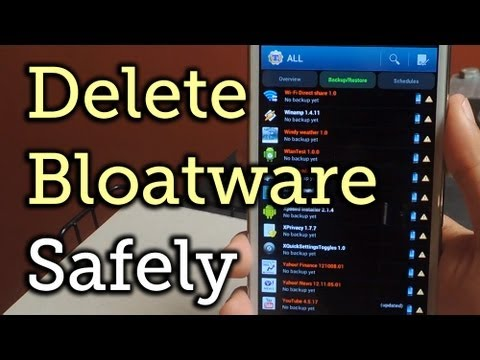 Permanently Delete Preloaded Android Apps (Bloatware) on Your Samsung Galaxy Note 2 [How-To]