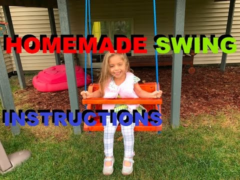 How To Make A Homemade Swing For Kids