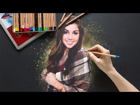 The Amazing Splatter Brush Effect for Portraits in Photoshop