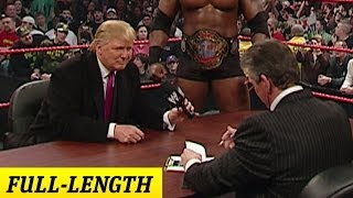 Mr. McMahon and Donald Trump