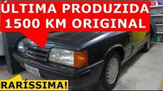 Caravan Comodoro 1992 6 cilindros com 1500 Kms original. Raríssima!