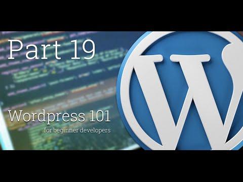WordPress 101 - Part 19: How to create Custom Post Type - Part 2