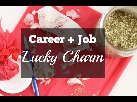 Career + Job Lucky Charm Ritual