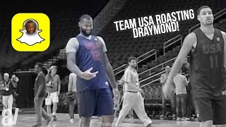 Team USA Roasts Draymond Green Over Snapchat D*ck Pic at Practice