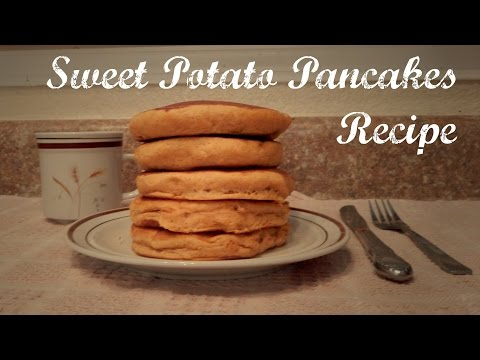 Sweet Potato Pancakes Recipe | The Sweetest Journey