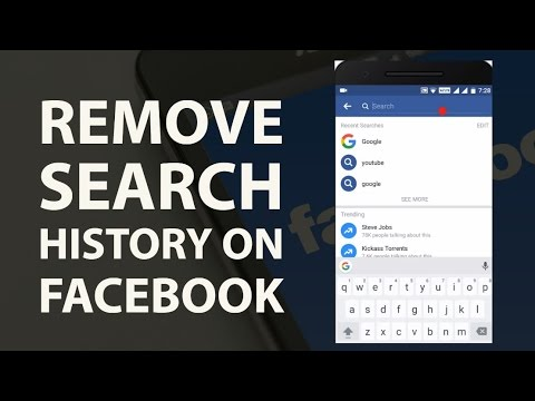 How To Remove Search History On Facebook