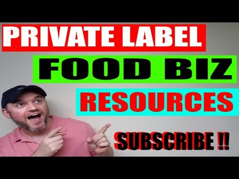 How to start a Food Business Private Labeling Food FBA resource Where to find food ingredients