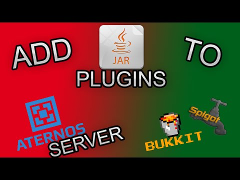 How to add plugins in ATERNOS SERVER 1.10.2 (BUKKIT AND SPIGOT)