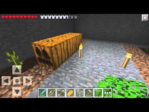 Let's Play Minecraft Pocket Edition - Ep. 37: Pumpkin Farm