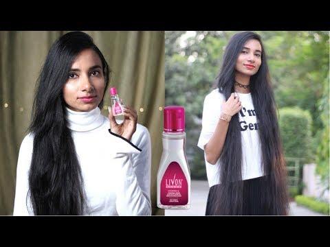 बालों को 2 मिनट में सीधा करने का आसान तरीका | Livon Hair Serum with Vit E for Smooth,Frizz-Free Hair