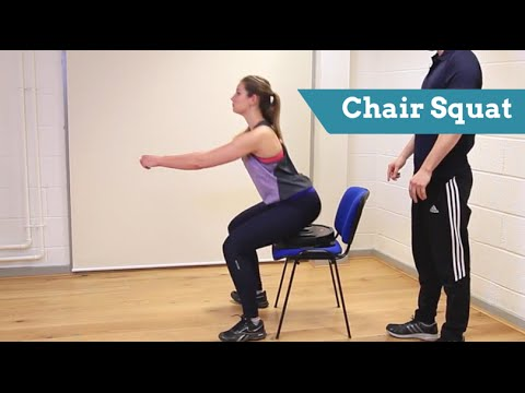 Get 'Chair Squat' Confident: Technique, Common Mistakes and Beginner Tips