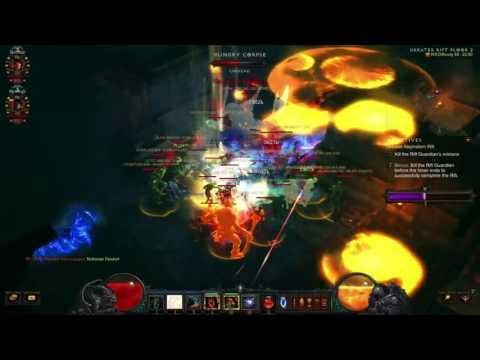 Diablo 3: The Diversity Of Uncommon Builds (Team 6/12 Grift 58 v2.4.1)