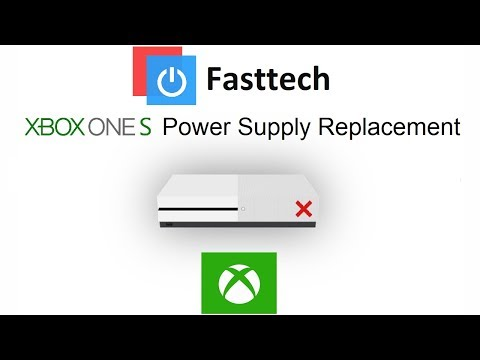 Xbox One S Not Turning On Fix (Power Supply Replacement)