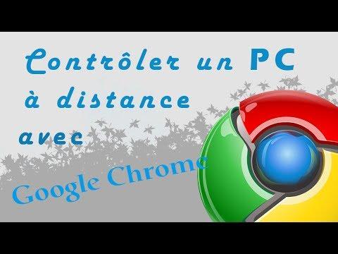 Contrôler son PC à distance avec Google Chrome | TUTO FR & SUBTITLED