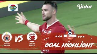 Persija Jakarta (4) vs Madura United (0) | Goal Highlights | Shopee Liga 1