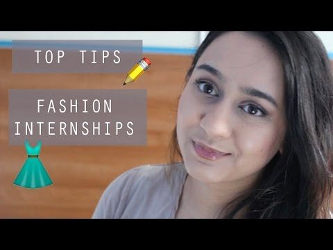 How to find a Fashion Internship/Placement & Why it's important | Design Students