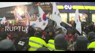 South Korea: Protesters slam Moon, Kim Jong-un for Olympics
