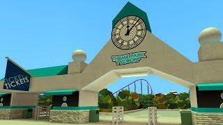 Dantdm Roblox Tycoon Theme Park Disney Adventure Park In Theme Park Tycoon 2 Roblox