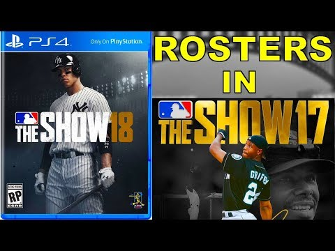 How to GET MLB 18 The Show Rosters in MLB 17 The Show!