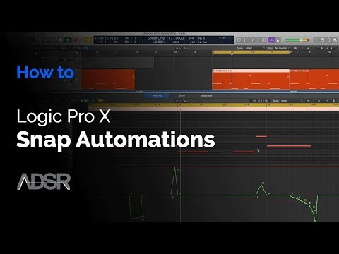 Snap Automation in Logic Pro X