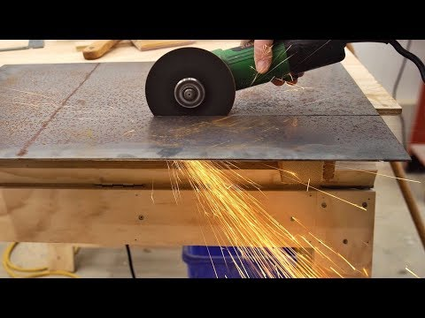 How I Make Straight Accurate Cuts With The Angle Grinder