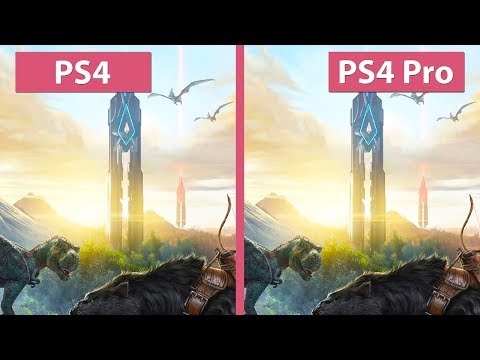 ARK: Survival Evolved – PS4 vs. PS4 Pro Frame Rate Test & Graphics Comparison 2017 Release