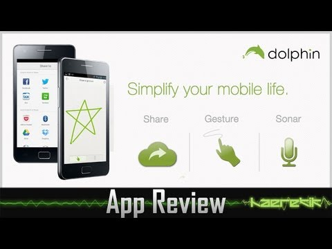 [Review] Dolphin Browser HD - hands-on Android App [german][haeretik.com]