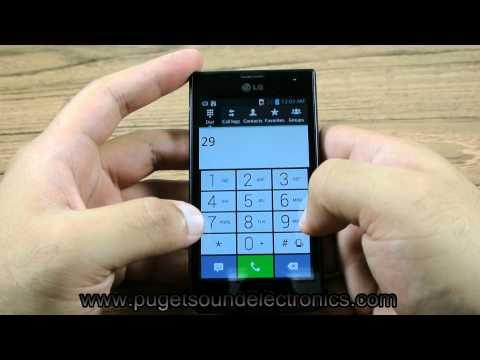 How To Unlock T-Mobile LG Optimus F3 P659