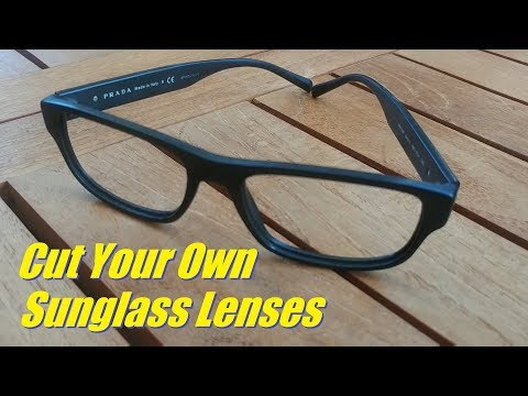 How To Cut Lenses to Fit Your Frames