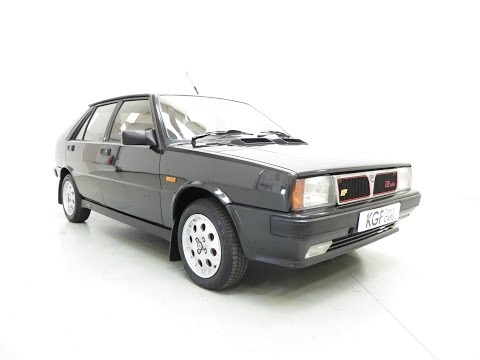 Immaculate Lancia Delta HF Turbo ie with One Owner, Full History and 30,754 Miles From New - SOLD!