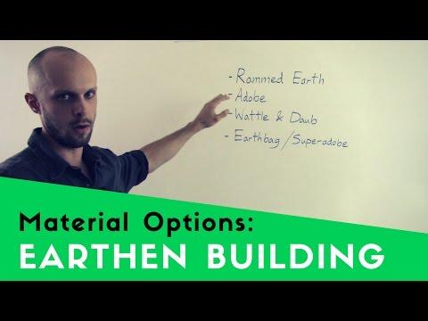 EARTH BUILDING TECHNIQUES - COB, ADOBE, RAMMED EARTH, SUPERADOBE