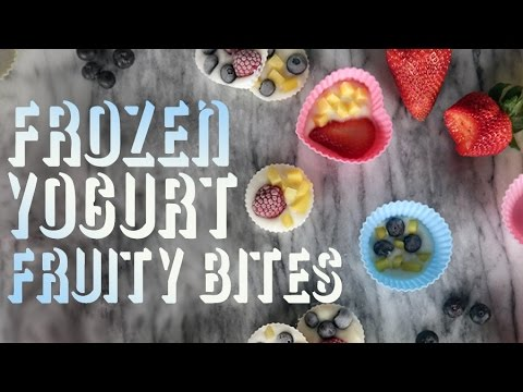 How to Make Frozen Yogurt Fruit Bites | Get the Dish