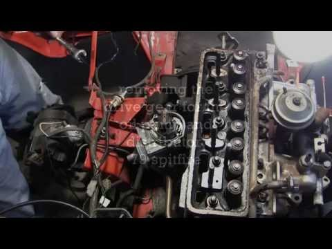 28July2015 oil pump & distributor drive gear removal
