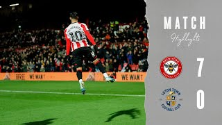 Match Highlights: Brentford 7 Luton Town 0
