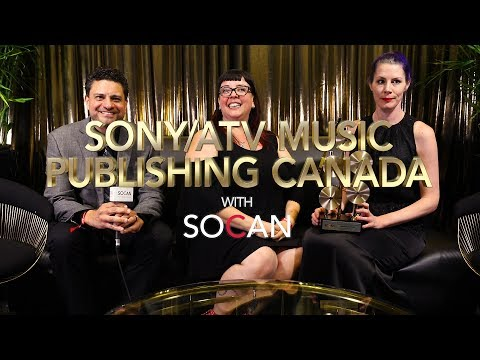 Sony/ATV Music Publishing Canada with SOCAN