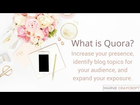 How to Use Quora to Identify Content for Your Blog