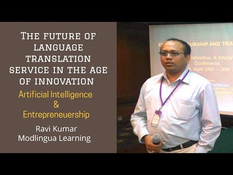 The future of language jobs in the age of innovation, artificial intelligence n entrepreneurship