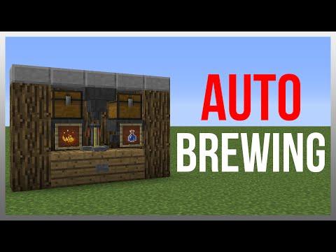 Minecraft 1.12: Redstone Tutorial - Brewing Station v4!