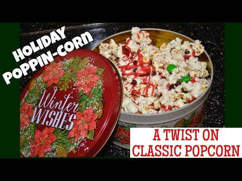 Holiday POPPINcorn