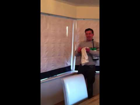 Roman Blind Cleaning Yorkshire