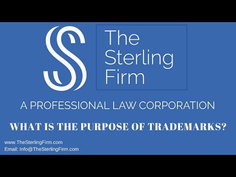 WHAT IS THE PURPOSE OF TRADEMARKS?