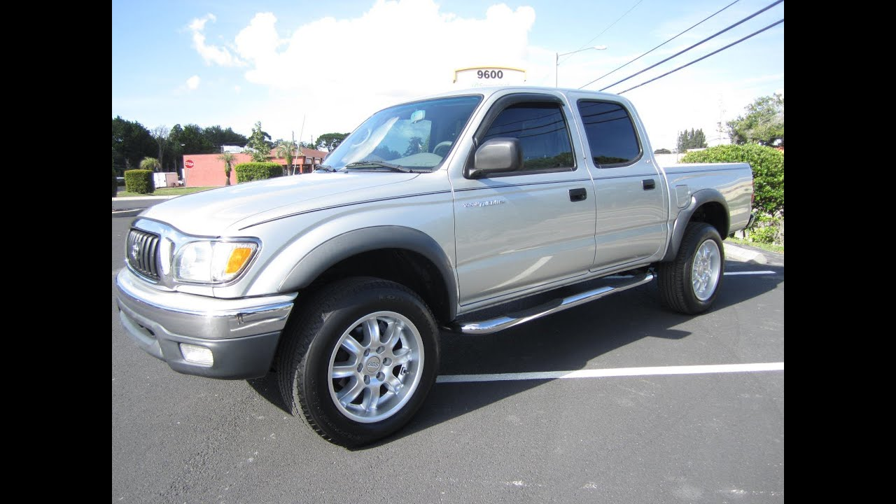 SOLD 2003 Toyota Tacoma PreRunner Double Cab SR5 V6 Meticulous Motors Inc Florida For Sale
