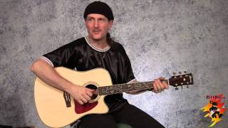 Cool Acoustic Guitar Riffs in C Major / A Minor